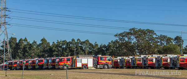 MFB & QFRS Pumpers in Sydney