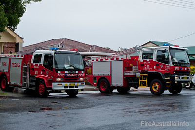 NSWFB 211 Ballina Pumper and Tanker