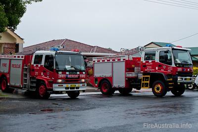 NSWFB 211 Ballina Pumper and Tanker