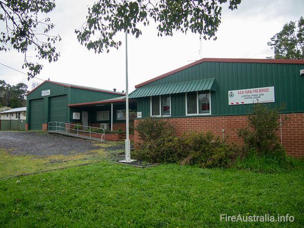 NSW RFS Liverpool Plains FCC and Willow Tree Fire Station