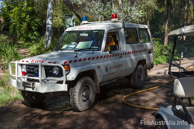NSWRFS Scotland Island Personnel Carrier