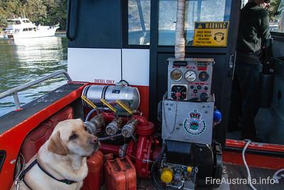NSWRFS Scotland Island Boat