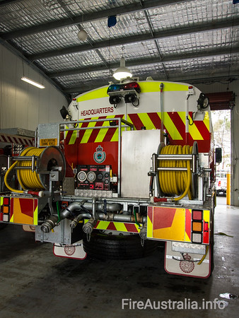 NSWRFS Warringah Headquarters Brigade Cat 6 Tanker (2014)
