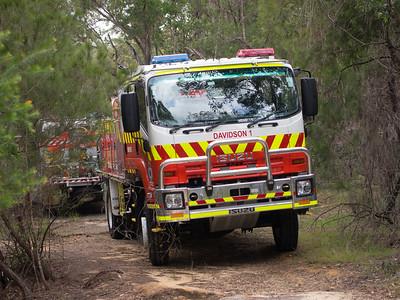 NSW RFS Davdson 1 Tanker