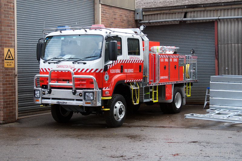 NSW Rural Fire Service - Carrington Fall Cat 1 Tanker. <br /> <br /> Built by Alexander Perrie in 2010