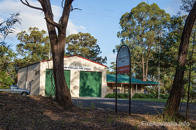 NSW Rural Fire Service - Lower Portland Fire Station. Hawkesbury District  Photo 2013