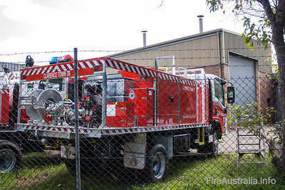 NSW Rural Fire Service - Clarence Town Cat 7 Tanker.   Built by Alexander Perrie in 2011