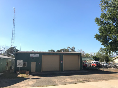 NSW RFS Tumut Fire Station