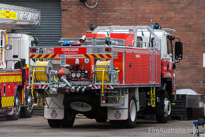 NSW Rural Fire Service - Curricabark Cat 1 Tanker.   Built by Alexander Perrie in 2010