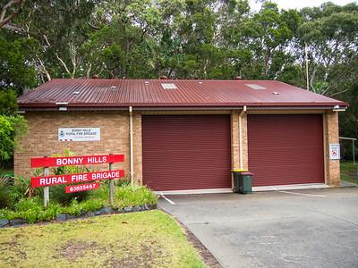 NSW RFS Bonny Hills Fire Station