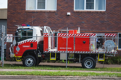 NSW Rural Fire Service - Turrawan Cat 7 Tanker.   Built by Alexander Perrie in 2011