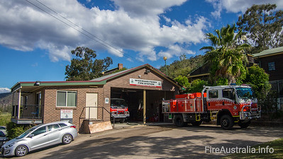 Wisemans Ferry RFB Station. The Hills District  September 2013