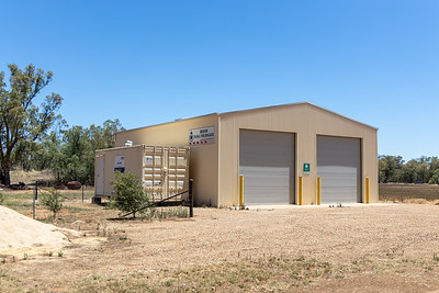 NSW RFS Beckom Fire Station