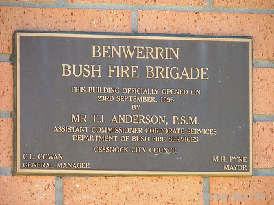 NSW RFS Benwerring Fire Station