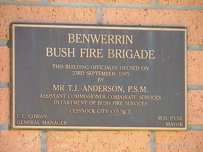NSW RFS Benwerring Fire Station