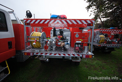 NSW Rural Fire Service - Burrabadine Cat 7 Tanker  Built by Alexander Perrie in 2012