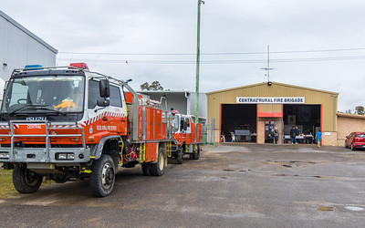 NSW RFS Central Brigade, located in Cessnock, in the Lower Hunter DTZ
