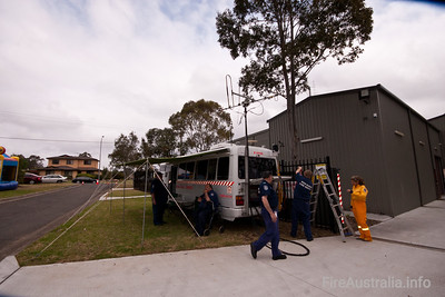 NSWRFS Cumberland Communications Vehicle