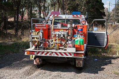 NSWRFS Hawkesbury HQ Cat 9 Tanker.  Kuipers Engineering Jul/04 Build