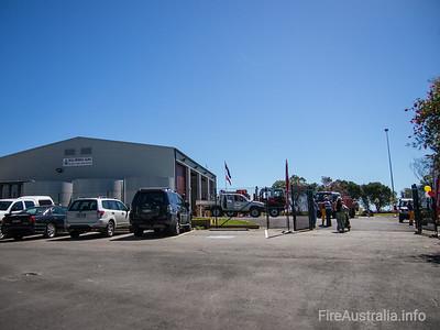NSWRFS Ku-ring-gai Fire Station. Opened 2013   Photo Sep 2013