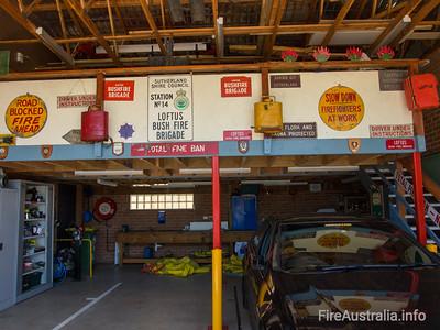 NSW RFS Loftus Station
