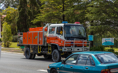 NSW RFS Middle Dural 1 Tanker