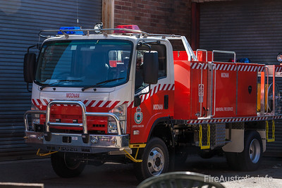 NSW Rural Fire Service - Moonan Cat 7 Tanker  Built by Alexander Perrie in 2011