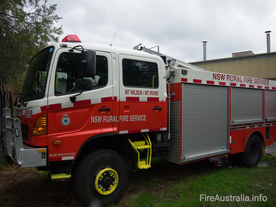 NSW RFS Mt Wilson Pumper