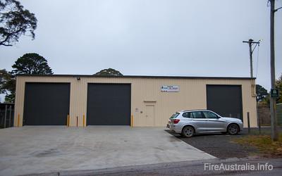 NSW Rural Fire Service - Penrose Fire Station. Southern Highlands Zone  Photo Nov 2013