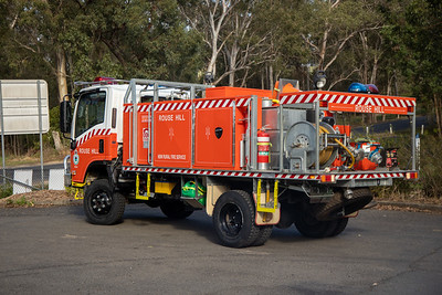 NSW RFS Rouse Hill Station and Cat 7 Tanker