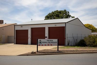 NSW RFS The Rock Fire Station