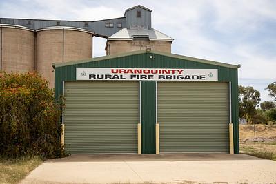 NSW RFS Uranquinty Fire Station