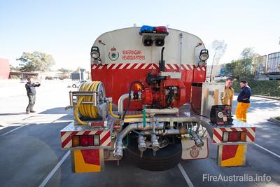 NSWRFS Warringah HQ Bulk Water Tanker  Built by Kuipers Engineering 12/2011 Body no. KE-M 17826 Body Model No. 13SIG2011B