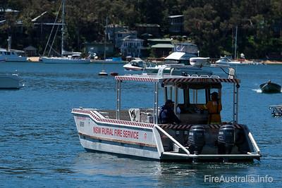 NSWRFS Elvina Boat. Warringah Pittwater District  Photo 2010