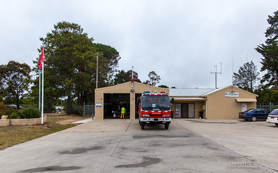 NSW Rural Fire Service - Wingello Fire Station. Southern Highlands Zone  Photo Nov 2013