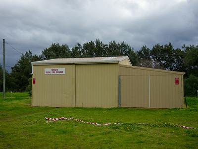 NSW RFS Wingen Fire Station