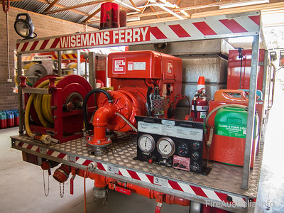 Wisemans Ferry RFB Cat 7 Tanker, built by Kuipers Engineering. The Hills District  Built by Kuipers Engineering, build date 4/98  September 2013
