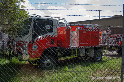 NSW Rural Fire Service - Wooli Cat 7 Tanker.   Built by Alexander Perrie in 2011