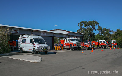NSW RFS Heathcote Vehicles