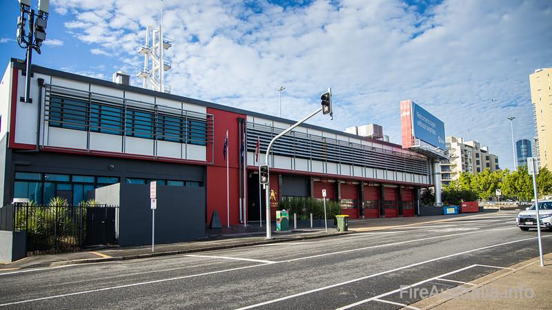 QFRS Kemp Place Fire Station
