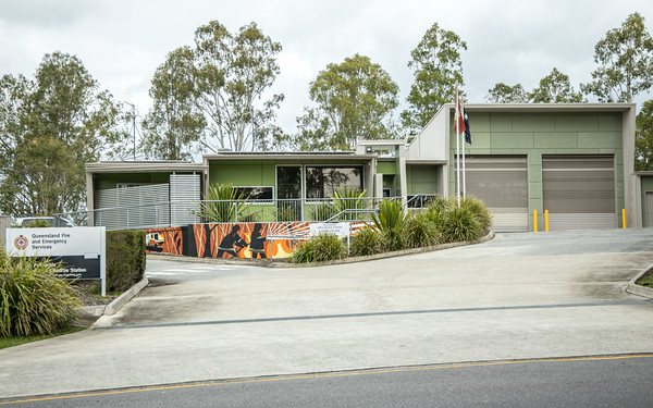QFRS Pullenvale Fire Station