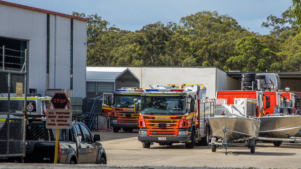 New Pumpers for QFRS at Bell Fire in Queensland