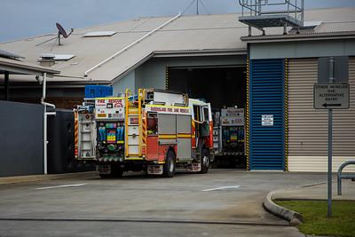 QFRS Enoggera Pumper 592A - Fleet 932