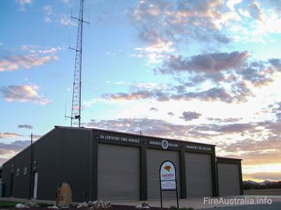 SA CFS Orroroo Fire Station