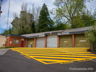 SA CFS Stirling Fire Station