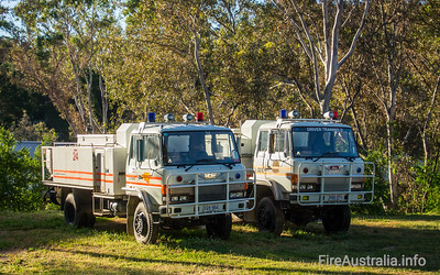 SACFS Training Appliances  Photo October 2013 at State Training, Brukunga