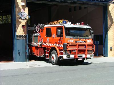 MFB Car 191 - Scania Combination Ladder