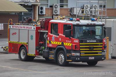 MFB Car 15 - Mark 5 Scania Pumper