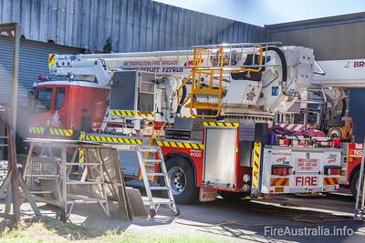 MFB Car 171 - Scania Bronto Ladder Platform