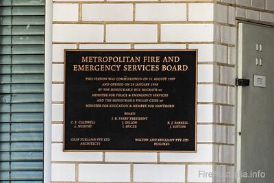 MFB Fire Station 18 Hawthorn (1998)